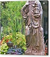 Beiger Mansion Statue Acrylic Print