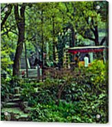 Beijing Gardens Acrylic Print
