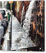 Beirut Wall Acrylic Print