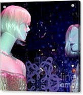 Bejeweled Blondes Acrylic Print