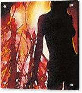 Bel Fire Acrylic Print