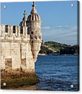 Belem Tower Fortification On The Tagus River Acrylic Print