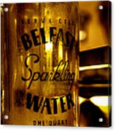 Belfast Sparkling Water Acrylic Print