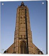 Belgium. Oudenarde. Sint-walburgakerk Acrylic Print