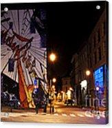 Belgium Street Art Acrylic Print