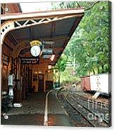 Belgrave Train Station Acrylic Print