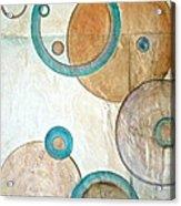 Belief In Circles Acrylic Print by Debi Starr