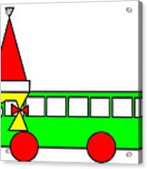 Belinda The Bus Wishes You A Merry Christmas Acrylic Print