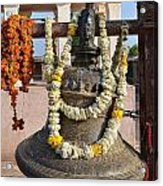 Bell At The Temple Of The 64 Yoginis - Jabalpur India Acrylic Print
