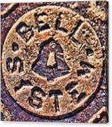 Bell Medallion Acrylic Print