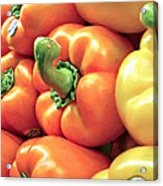Bell Pepper Stack Acrylic Print