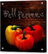 Bell Peppers II Acrylic Print