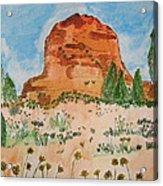 Bell Rock Acrylic Print by Marcia Weller-Wenbert