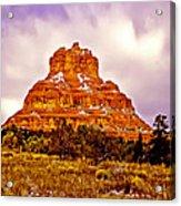 Bell Rock Sedona Az Acrylic Print