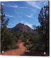 Bell Rock Trail Acrylic Print