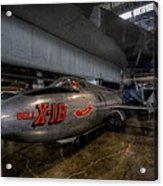 Bell X-1b Rocket Plane Acrylic Print