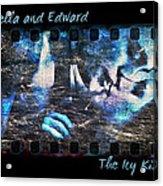 Bella And Edward - The Icy Kiss Acrylic Print
