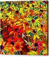 Bella Flora Painting Acrylic Print