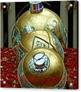 Bellagio Christmas Ornaments Acrylic Print