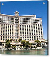 Bellagio Resort And Casino Panoramic Acrylic Print