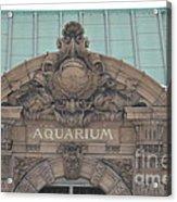 Belle Isle Aquarium Entrance 1 Acrylic Print