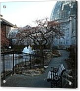 Belle Isle Conservatory Courtyard Acrylic Print