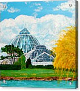 Belle Isle Conservatory Acrylic Print