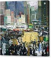 Bellows' New York Acrylic Print