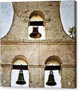 Bells Of Mission San Diego Acrylic Print