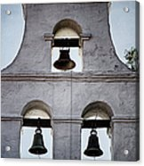 Bells Of Mission San Diego Too Acrylic Print