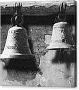 Bells Of San Juan Capistrano Acrylic Print