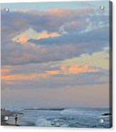 Belmar Nj Shore-evening-1 Acrylic Print
