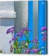 Belmont Shore Blue Acrylic Print