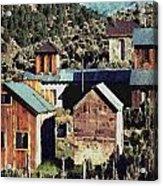 Belmont Town Acrylic Print