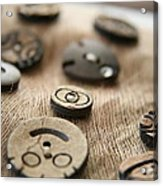Beloved Buttons  Acrylic Print