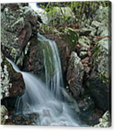 Below Mina Sauk Falls 4 On Taum Sauk Mountain Acrylic Print