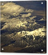 Below The Clouds Acrylic Print