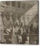 Belshazzar's Feast Acrylic Print