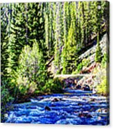 Belt Creek Acrylic Print