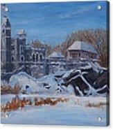 Belvedere Castle Central Park Nyc Acrylic Print