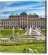 Belvedere Gardens Acrylic Print by Viacheslav Savitskiy