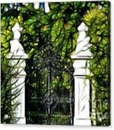 Belvedere Palace Gate Acrylic Print