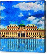 Belvedere Palace Acrylic Print