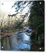 Belvidere Junction Stream Vermont Acrylic Print