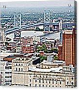 Ben Franklin View Acrylic Print