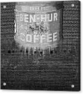 Ben Hur Coffee Acrylic Print