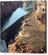 Bend In The Colorado River Acrylic Print