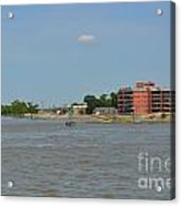 Bend Of The Mississippi River Acrylic Print