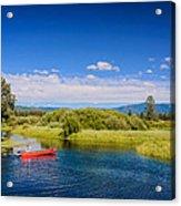 Bend Sunriver Thousand Trails Oregon Acrylic Print