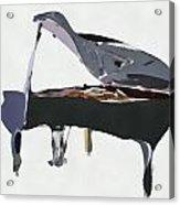 Bendy Piano Acrylic Print